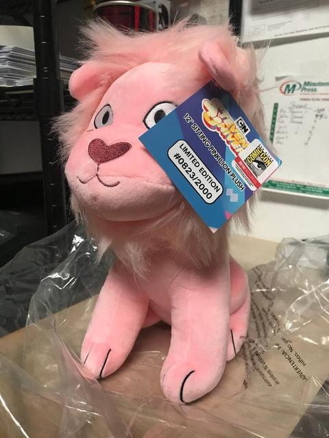 2018 Exclusive Plush Toy Sitting Lion Steven Universe 12 New In
