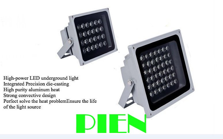 20W outdoor christmas spotlight 20 led reflector focos lamparas for garden street waterproof IP65 100-240V by DHL 6pcs