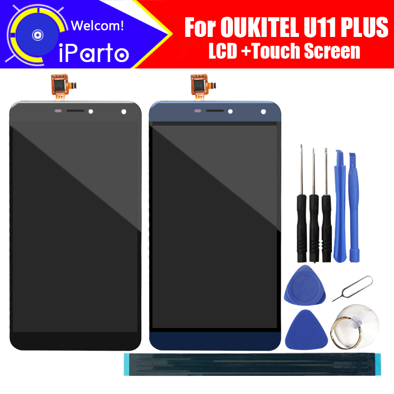 5.7 inch OUKITEL U11 PLUS LCD Display+Touch Screen Digitizer Assembly 100% Original New LCD+Touch Digitizer for U11 PLUS+Tools5.7 inch OUKITEL U11 PLUS LCD Display+Touch Screen Digitizer Assembly 100% Original New LCD+Touch Digitizer for U11 PLUS+Tools