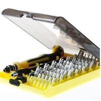 Profesional 45 en 1 JK 6089 B Tornillo Controlador de Hardware Tool Kit de herramienta de reparación de juego de Destornilladores Precisos HQ teléfono móvil y Portátil