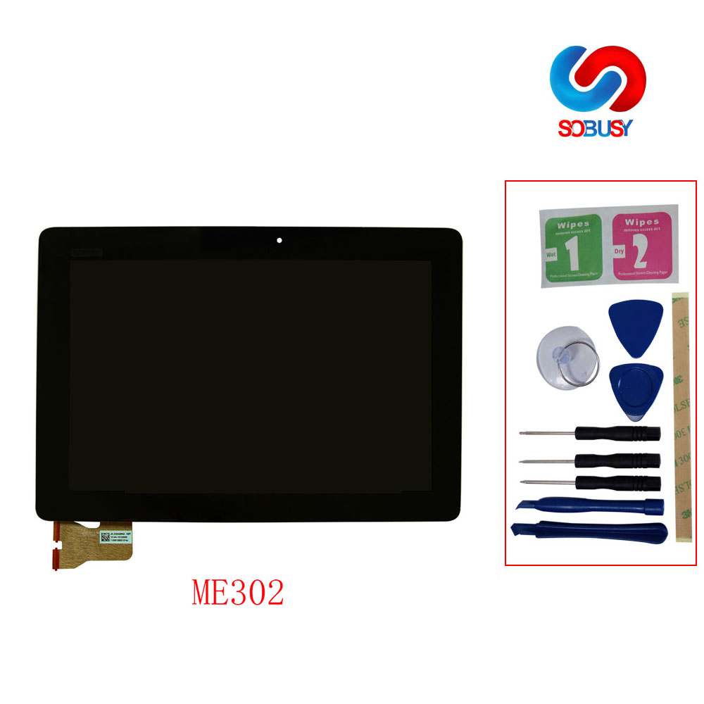 ME302 Display Touch Matrix Digitizer Assembly Replace Parts for ASUS MeMO Pad ME302 ME302C ME302KL K005 K00A 5425N LCDME302 Display Touch Matrix Digitizer Assembly Replace Parts for ASUS MeMO Pad ME302 ME302C ME302KL K005 K00A 5425N LCD