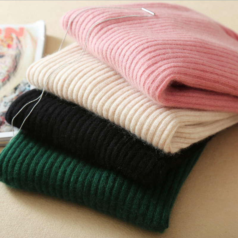 Winter cashmere sweater ladies wool sweater long sleeve women sweater sets round neck warm knitted sweater все цены