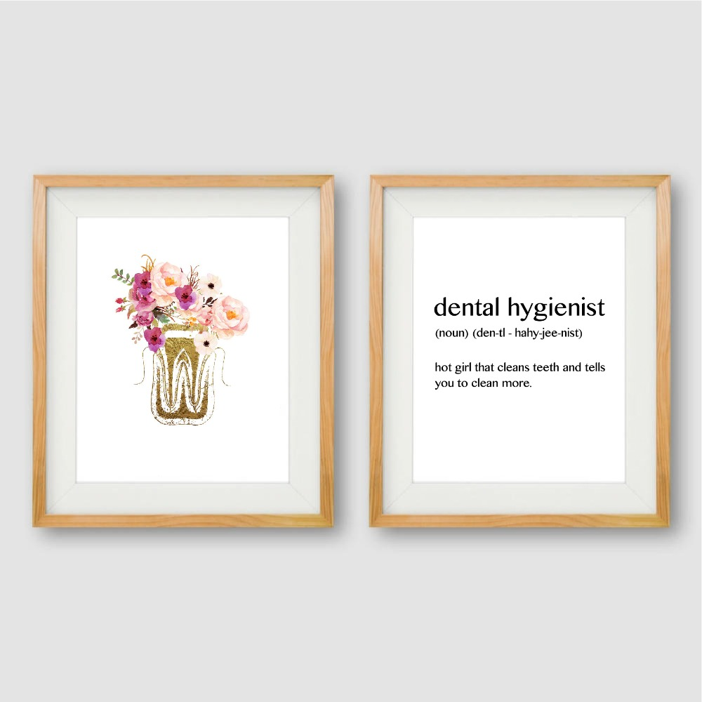 Dental Anatomy Canvas Poster Dentist Office Wall Art Print Painting Dental  Hygienist Funny Quote Picture Bathroom Decoration [orc32962844924] - $42.27  ...
