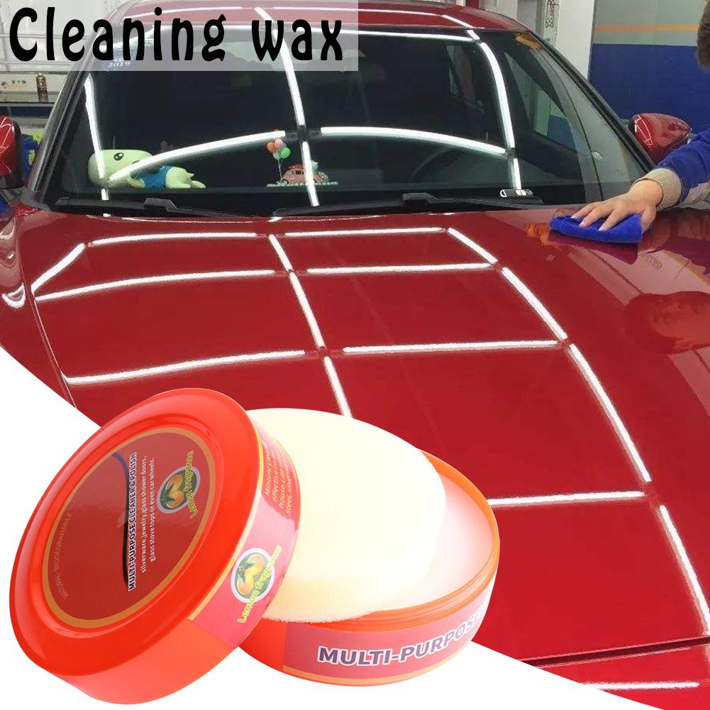 1pc Waterproof Car Cleaning Wax Mintiml Multi-Purpose Cleaner Polish Wax Cleaner Cleaning Agent Car Paint Care Tools