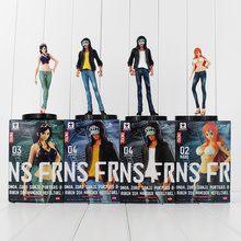 4Styles New Hot Anime One Piece Freak Nami Nico Robin Trafalgar Law PVC Action Figures Collectible Model Toys for Kids