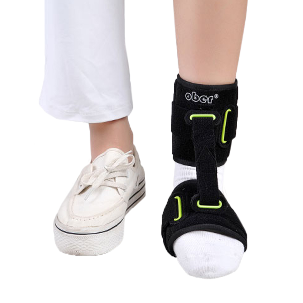 Adjustable Nightime Ankle Brace Support AFO Orthotics Strap Elevator Plantar Fasciitis Foot Cramps Preventing Foot Drop foot drop orthoses plantar fasciitis ankle achilles tendinitis supporting feet correction