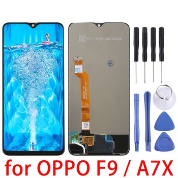 OPPO LCD Screen and Digitizer Full Assembly for OPPO F9 / A7X  Replacement repair parts