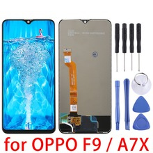 6.3'' for OPPO LCD Screen and Digitizer Full Assembly for OPPO F9 / A7X  Replacement repair parts
