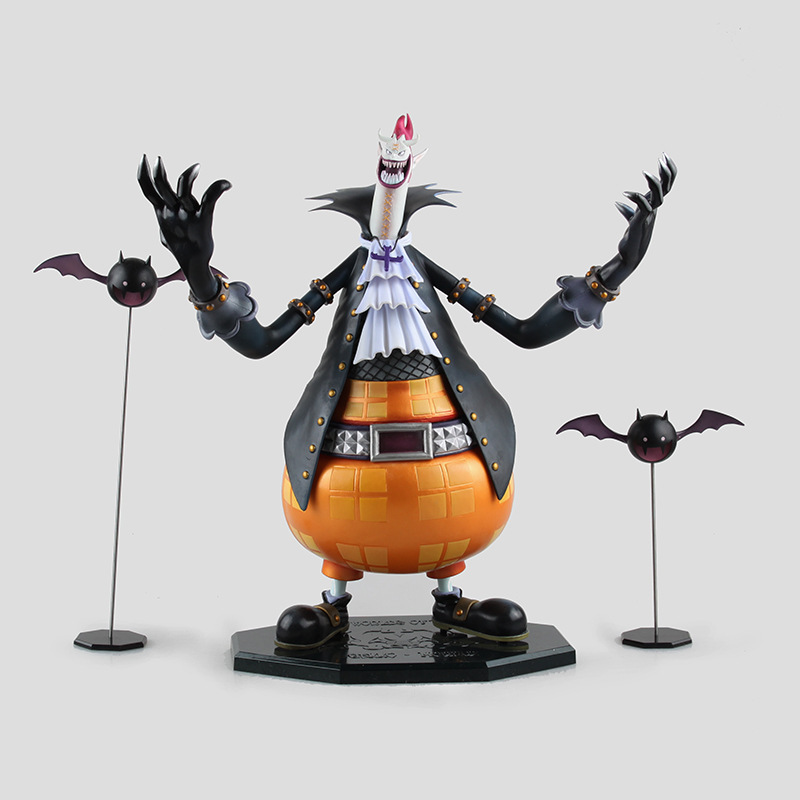 Free Shipping 12 Anime One Piece P.O.P DX Shichibukai Gekko Moria Boxed 30cm PVC Action Figure Collection Model Doll Toy anime one piece dracula mihawk model garage kit pvc action figure classic collection toy doll