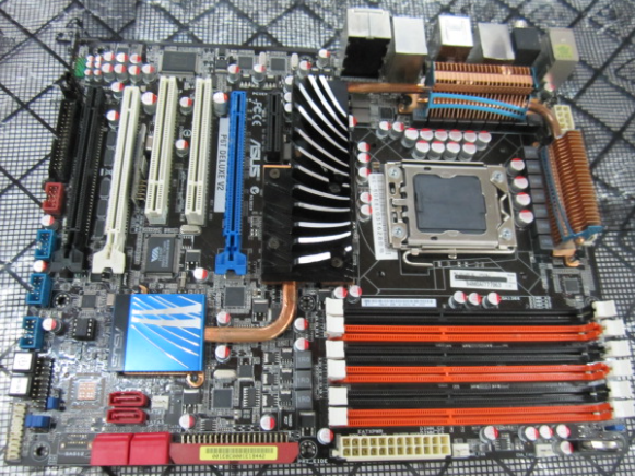 Asus P6T Deluxe Motherboard Drivers for Windows 7