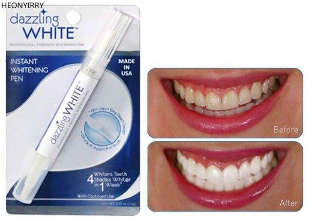 Blanqueamiento de dientes de Gel de peróxido de limpieza decolorante Kit Dental deslumbrante blanco pluma blanqueadora de dientes Blanqueador Dental