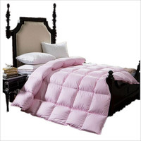 Goose Down Quilt Blanket Duvet For Winter With White Cotton Cover King Queen Twin Size Fast