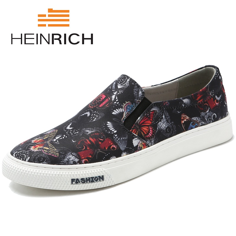HEINRICH 2018 New Casual Top Quality Man Shoes Minimalist Design Slip-On Male Flats Loafers Breathable Soft Men Shoes CalzadoHEINRICH 2018 New Casual Top Quality Man Shoes Minimalist Design Slip-On Male Flats Loafers Breathable Soft Men Shoes Calzado