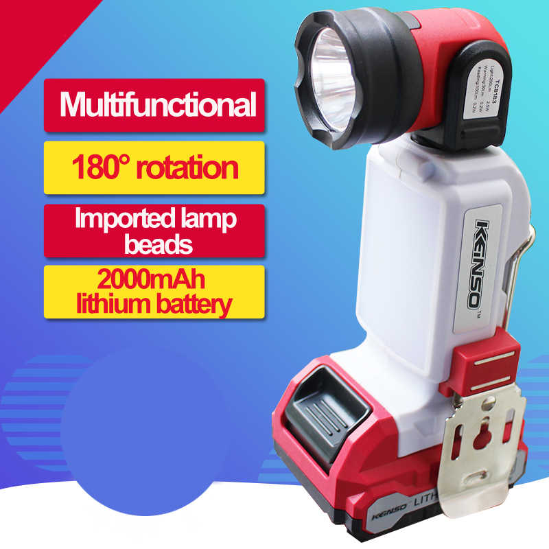 12V di động ánh sáng đèn LED ốp nổi đèn lồng cắm trại Đèn pha tìm kiếm di động sáng Đèn Pin cầm tay đèn ngủ ánh sáng ô tô dụng cụ