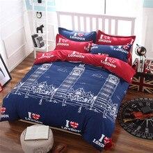Venta caliente 4 unids 3d juegos de cama juegos de cama conjunto juego de ropa de algodón ropa de cama king size no edredón ropa de cama conjunto 072