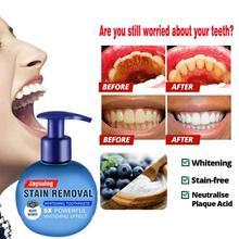 Волшебная пищевая Сода зубная паста отбеливание зубов Чистка гигиены уход за полостью рта освежающий фруктовый зубная паста белый зуб