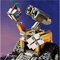 687 Pcs 2016 Novo Lepin 16003 Idéia Robô WALL E Conjunto Kits de Construção Tijolos Blocos Brinquedos Para Crianças 21303