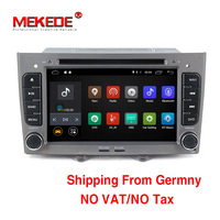 Two Din Car Audio Player For Peugeot 408 Peugeot 308 Hot Selling For Quad Core Android4
