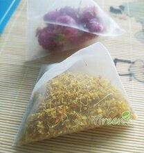 2015 New Teabags!  70 X 80mm Nylon Tea Bag, Heat Sealable Tea Filters, semi-transparent filter bag of tea leaf 100pcs/lot стоимость