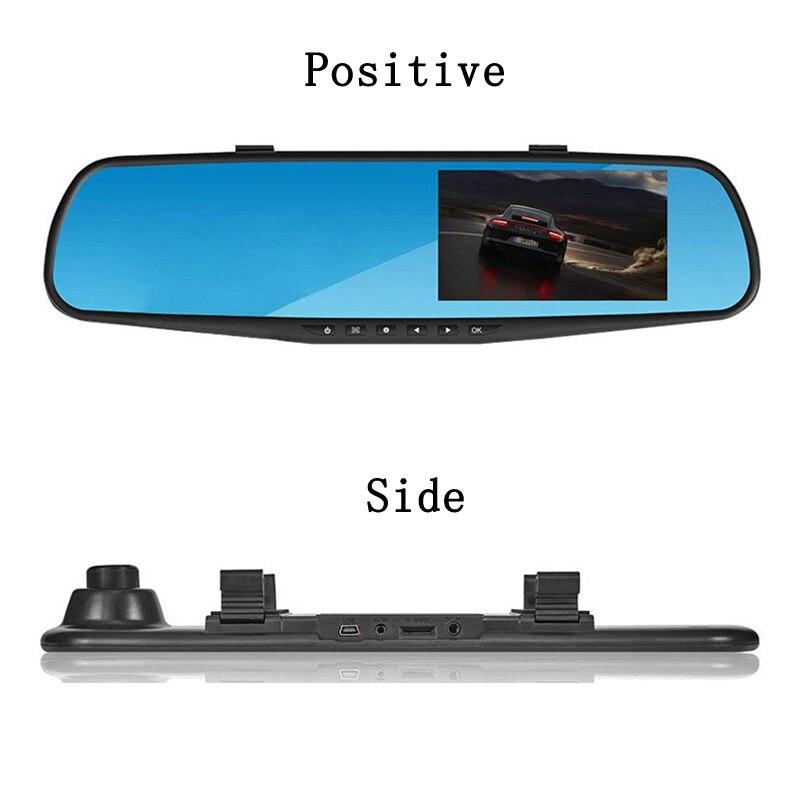 Rearview Mirror Car Dash Cam Full HD 4 3 39 39 1080P Car Dvr Camera Dual Lens Dash Camera DashCam Driving Video Recorder Car Camera in DVR Dash Camera from Automobiles amp Motorcycles