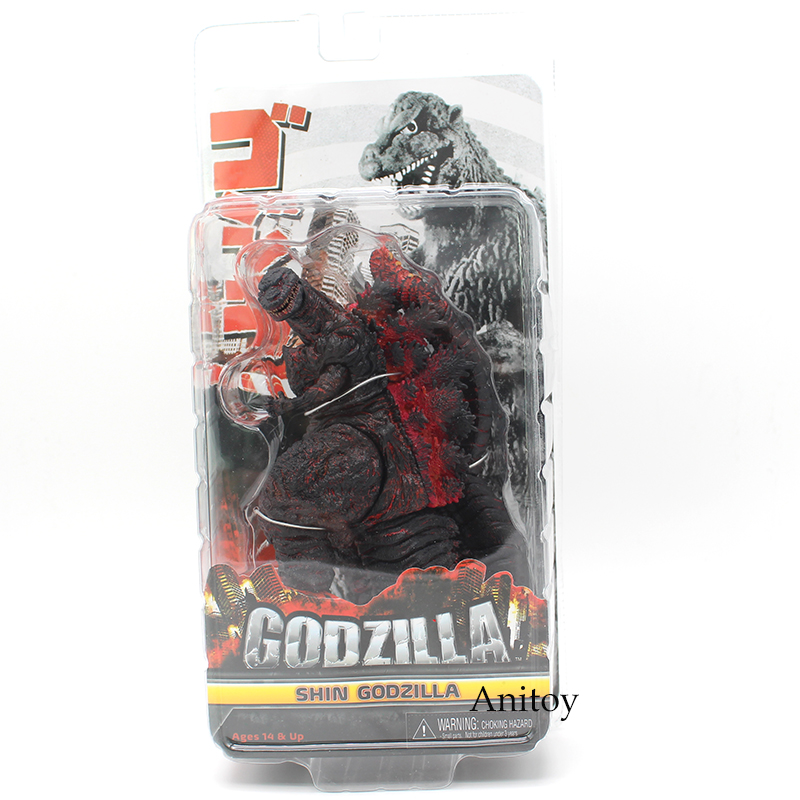 NECA Godzilla Shin Godzilla 2016 Movie PVC Action Figure Collectible Model Toy 16cm стоимость