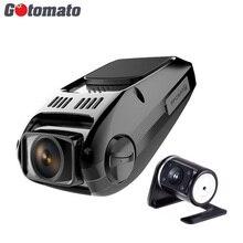 Gotomato двойной Камера Новатэк 96655 чип B40s плюс Видеорегистраторы для автомобилей Full HD 1080 P Двойной объектив 170 градусов регистраторы видео Регистраторы
