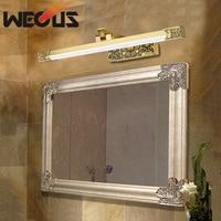 High grade american led mirror light hotel bathroom cabinet lamp anti fog bronze painting lamp 425mm 8W