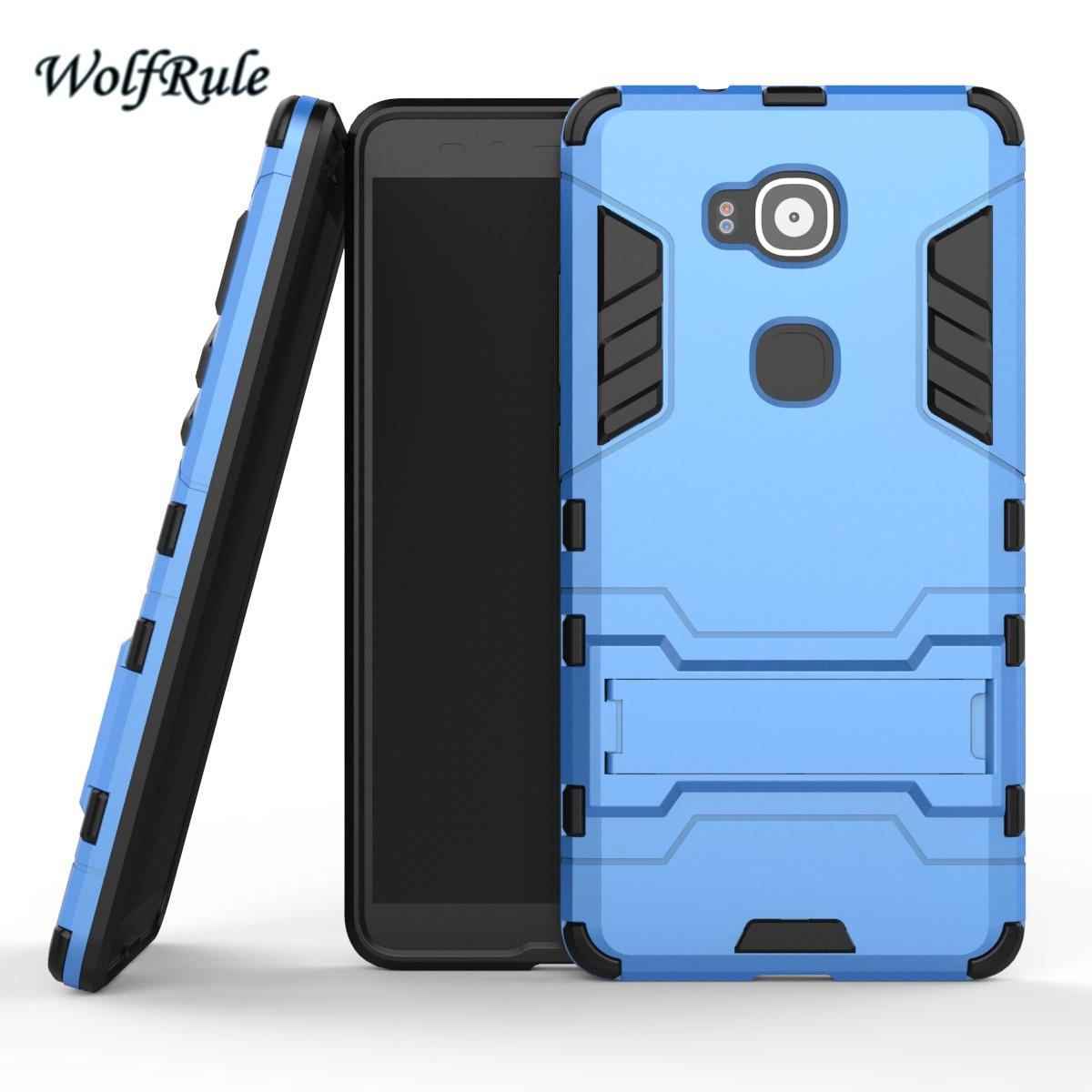 WolfRule Anti-knock Case Huawei G8 Cover Soft Rubber + Hybrid Plastic - Reservdelar och tillbehör för mobiltelefoner - Foto 2