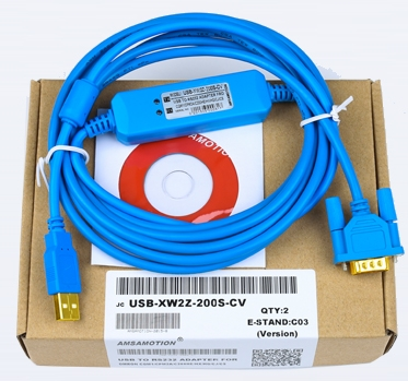 Usb To Rs232 Support Win7 db9f New Smart Usb-xw2z-200s Usb-xw2z-200s-cv Programming Cable For Omron Plc Hmi Rs232 Db9