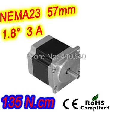 10 pieces per lot  high torque step motor 23HS30-3006S  L 76 mm Nema 23 with 1.8 deg  3 A  135 N.cm and  unipolar 6 lead wires бра 351021102 mw light хрустальное бра