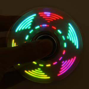 discountHEH LED Light Hand Spinner Fidget Focus Toy EDC