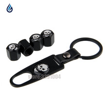 Cover Tire-Valve-Caps Keychain Polo Logo Skull Car-Wheel Jeep-Renegade Motorcycle Volkswagen