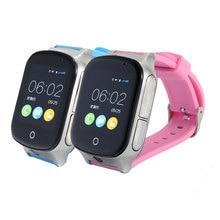 Сенсорный экран gps трекер часы умный Браслет gps wifi LBS найти SOS камера голосовое сообщение 3g GSM детские часы трекер IOS Android