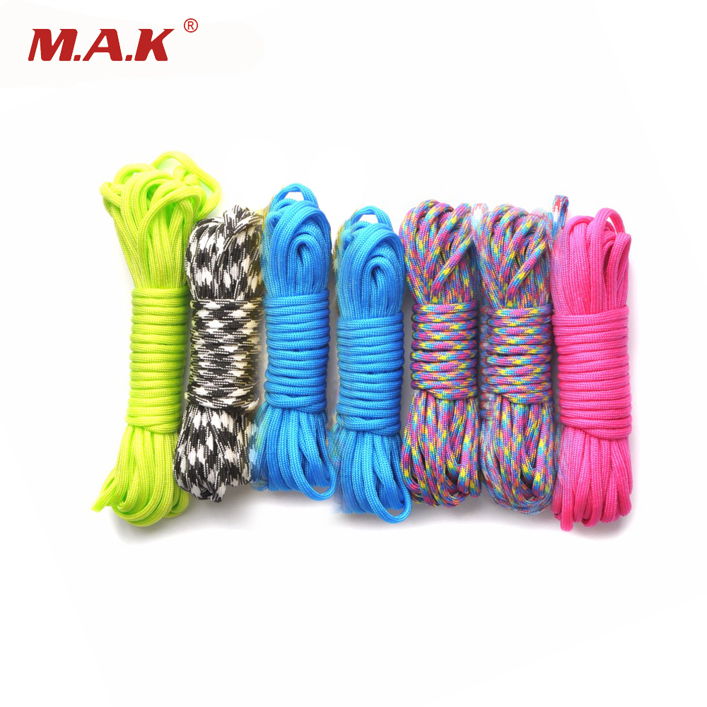 Survival Camo 550 Paracord Rope 7 strand Parachute Cord 10 25 50 100 ft