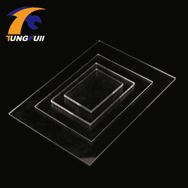 TUNGFULL 6mm A3 A4 A5 A6 A7 A8 Transparent Acrylic Plastic For Plexiglass Perspex Sheet PMMA Plast Size 6mm Acrylic Tools