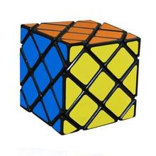 CubeStyle LanLan 8-Axis Maître Skewb Étrange En Forme de Cube Magique 56mm Vitesse Puzzles Twist Place Cubo Magico Jouets Éducatifs