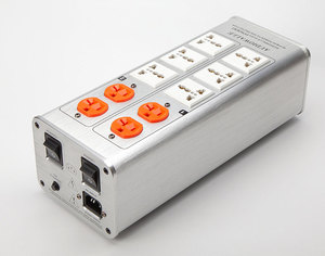Image 2 - 2018/ TP1000 новый высококачественный аудио фильтр шума, 3000 Вт AC кондиционер, силовой фильтр, очиститель питания, светодиодный дисплей напряжения