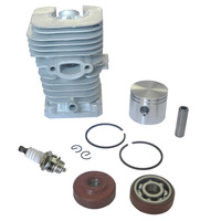 41mm Cylinder Spark Plug Piston Kit w /Rings Part Fit For Partner Chainsaw 350 351
