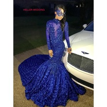 trust linda Fantastic Long Sleeve Mermaid Prom Dresses 2019