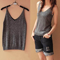 Hot sale 2017 New Ladies Multicolor Sleeveless Bodycon Women Bustier Cotton T-shirt Tank Top Women Vest Tops Fitness Women F823