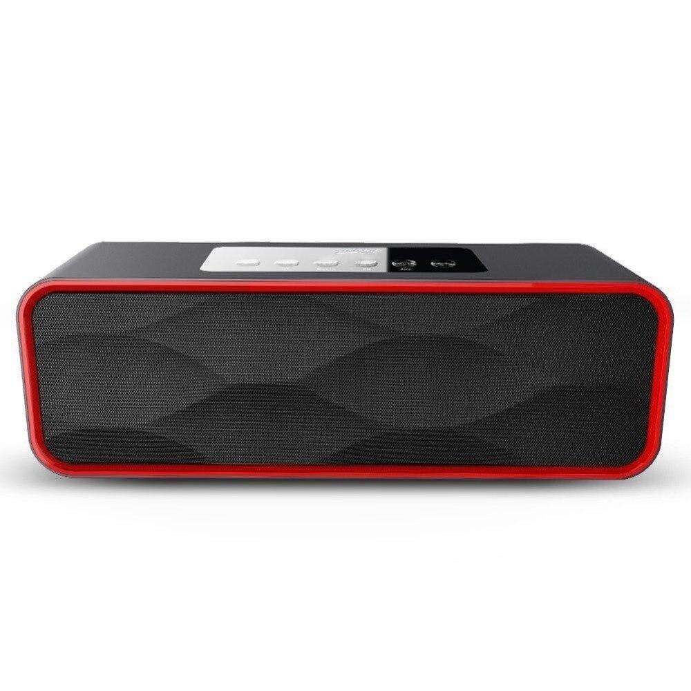 Mini haut-parleur MUSKY DY22 2 en 1 Mini haut-parleur Radio sans fil Bluetooth FM haut-parleur Portable prise en charge de la carte USB FM radio TF