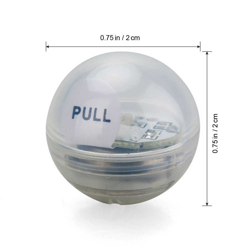 (1200pcs/lot) Fairy Pearls, Mini Twinkle LED Light Berries Floating White LED Ball For The Grand, Table, Flower Arrangements