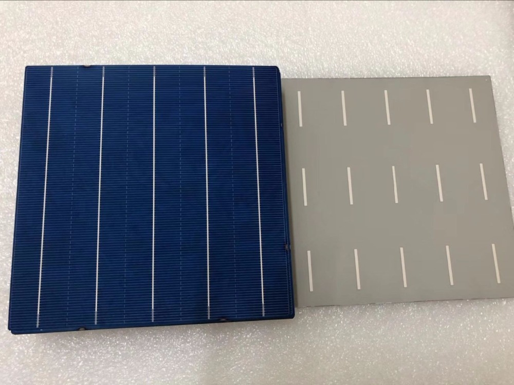 40 Pcs 4 6W 18 6 Efficiency Polycrystalline Silicon Solar Cell 156 75MMx156 75MM For Sale