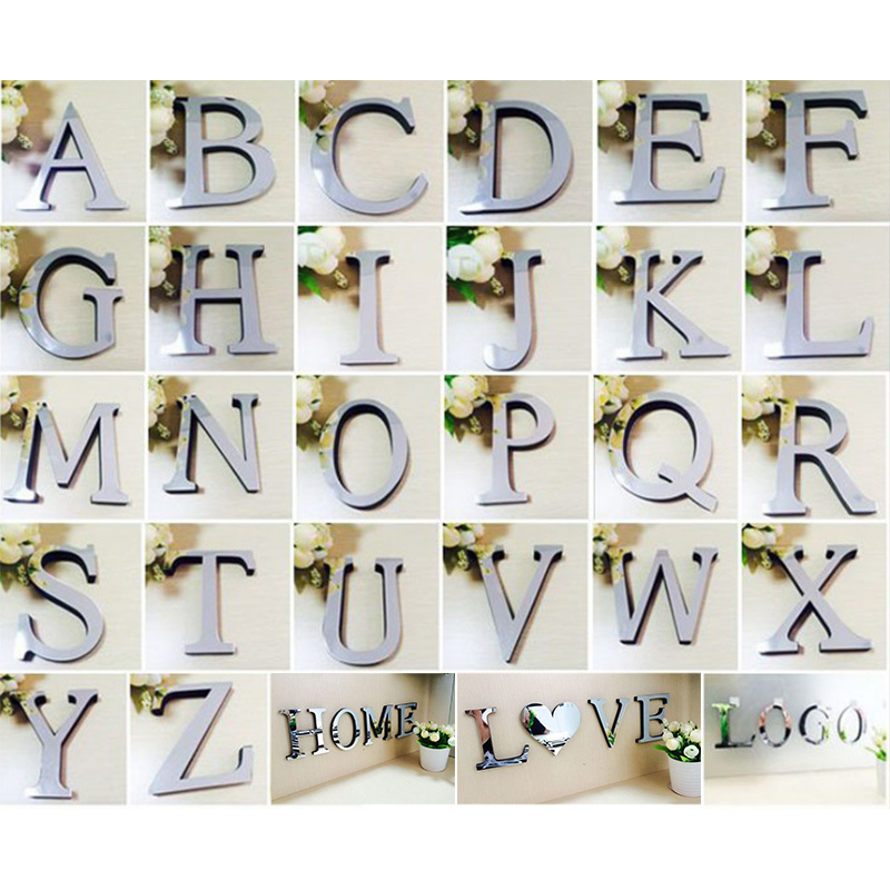Popular Alphabet Mirror Letters Buy Cheap Alphabet Mirror