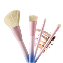 4 Pcs Pro Techniques Powder Cosmetic makeup brush set VDL pantone liquid foundation Eyeshadow Brush