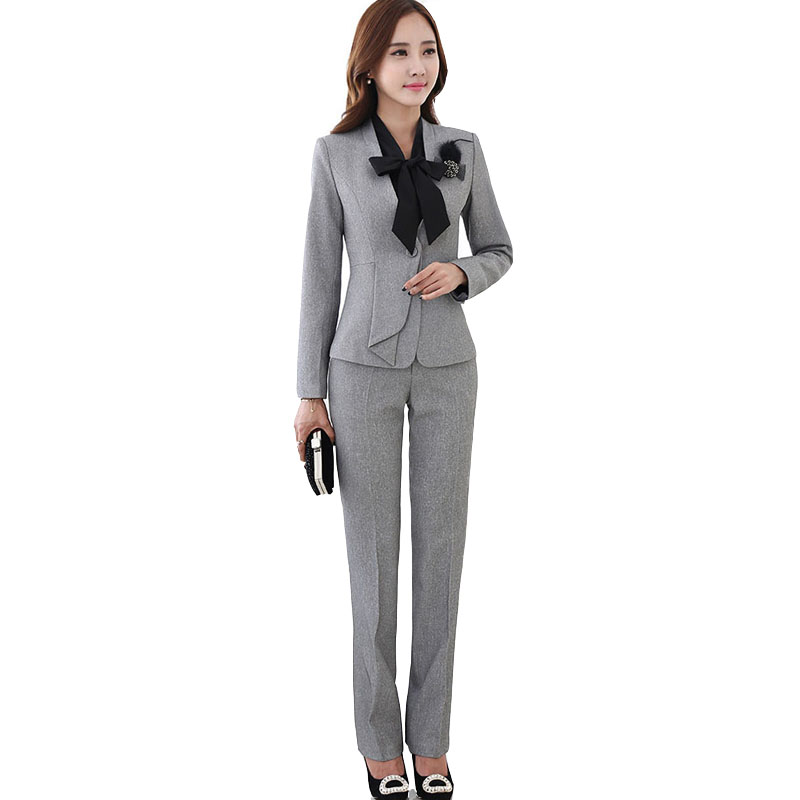 Aliexpress.com : Buy Women Evening Pant Suits Brand New 2017 ...