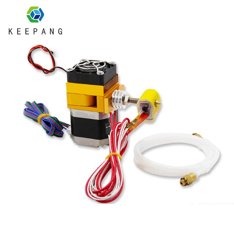 Kee Pang MK9 acessórios tubo de ptfe teflon bowden extrusora hotend impressora 3d impressora 3d pe como extrusora para 3d de impressora partes