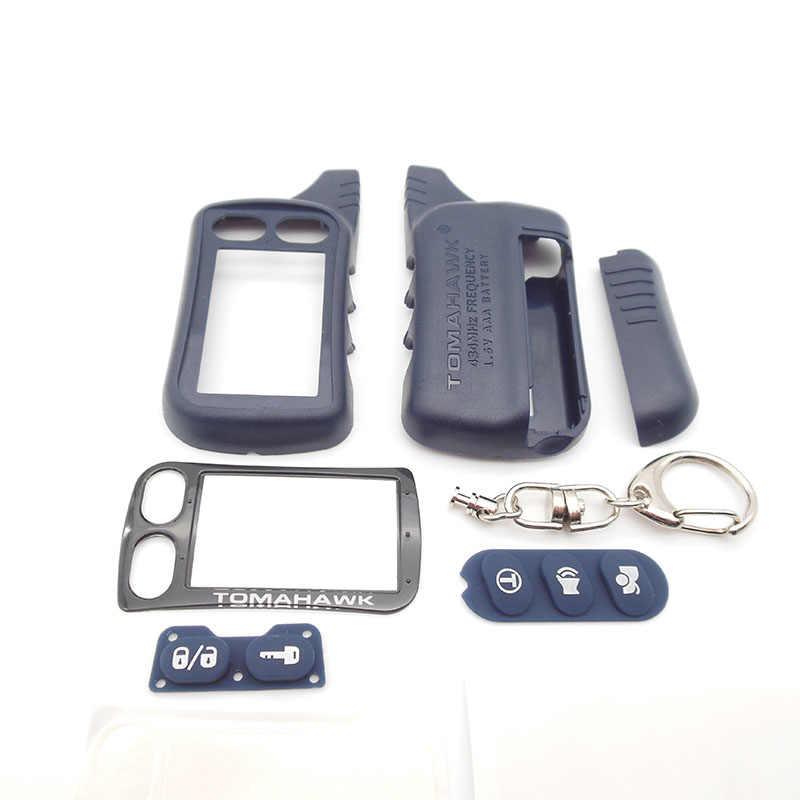 TZ9010 ケースキーチェーン 2 ウェイ車の警報システムトマホークため Tamarack TZ-9010 TZ-9030 TZ9030 キー Fob TZ 9010 9030 LCD リモート制御