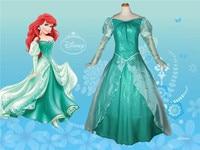 Movie The Little Mermaid Princess Ariel Costume Women Ariel Fancy dress Cosplay Dress
