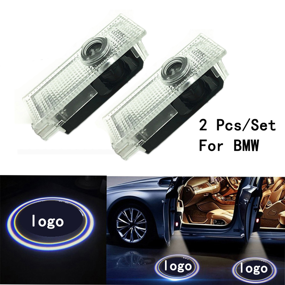 Only For BMW 3/5/6/7/Z/GT/X/Mini Series Weclome Lamp Ghost Shadow Projetor Lens Include  ...
